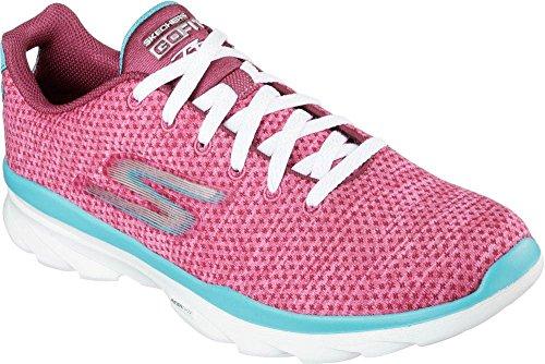 Skechers Go Fit Trprima - Zapatillas Mujer rosa/azul turquesa