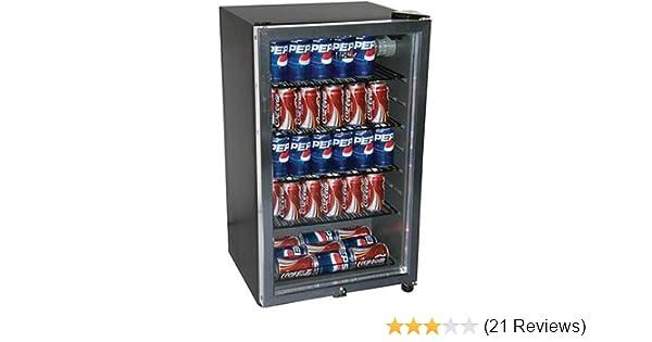 amazon com haier hc125fvs 125 can beverage center black appliances rh amazon com Haier 12 Bottle Wine Cooler Haier Wine Cooler Problems