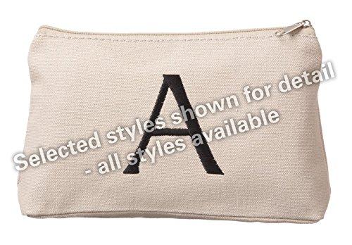 Ganz Monogrammed Cosmetic Bag Initial K