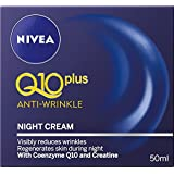 NIVEA Q10 Plus Anti-Wrinkle Moisturising Night Cream, 50ml