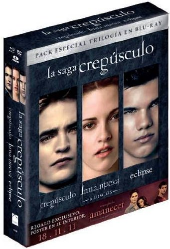 Trilogía Saga Crepúsculo (Bd) (6 Discos) [Blu-ray]: Amazon.es ...