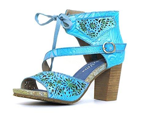 Vita blau kombi turquoise kombi Pumps blau BERNIE Laura Women 17 HqBPw6Bxg