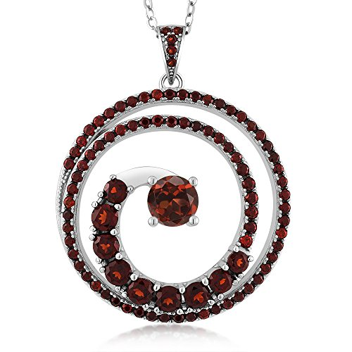 283-ct-round-natural-red-garnet-925-sterling-silver-twister-spiral-circle-pendant-necklace-with-18-c