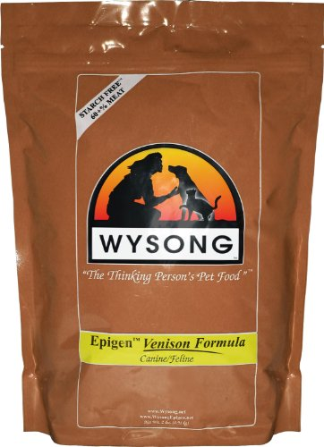 Wysong Epigen Venison Dog and Cat Food Bag, 2-Pound, My Pet Supplies