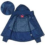 CAMEL CROWN Mens Waterproof Jacket Hooded