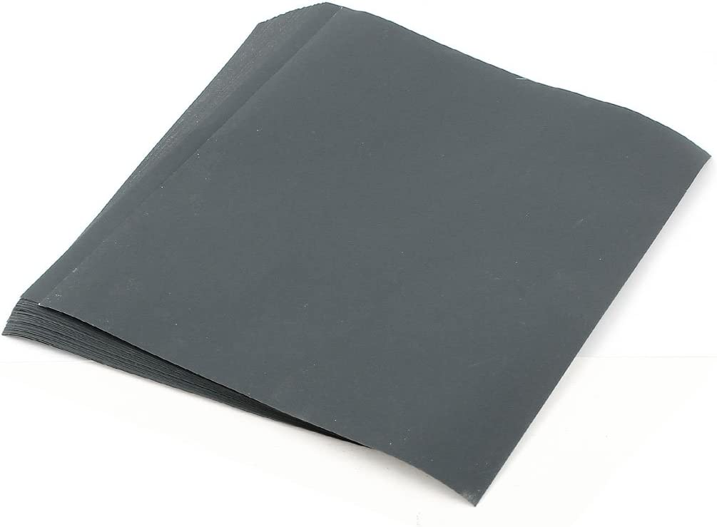 Grits600 9x11 x 10 SANDING SHEETS Wet Dry Silicon Carbide Waterproof Sandpaper