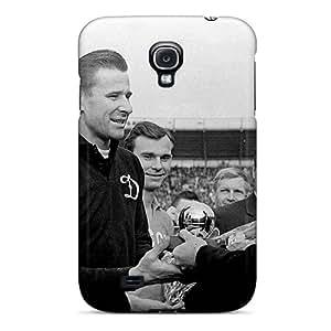 Fashion Protective Footballer Gets Lev Yashin Award Case Cover For Galaxy S4