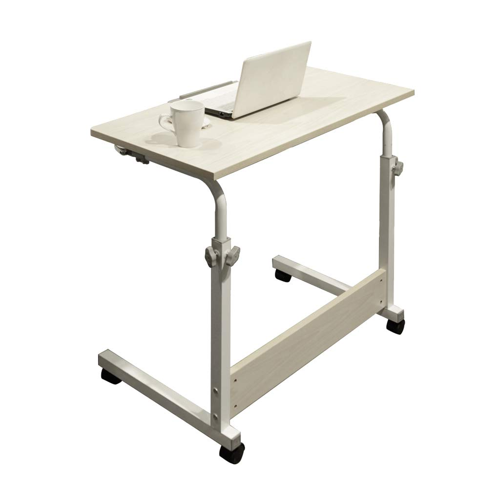 Desk Mobile Computer, Modern Minimalist Folding Table - Home Learning Writing Adjustable Height by Desk (Image #1)