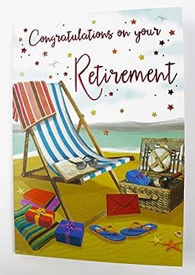Felicidades por tu jubilación tarjeta lujo calidad versículo ...