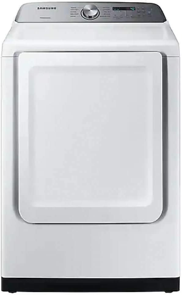 Samsung DVE50R5200W 7.4 cu. ft. White Electric Dryer with Sensor Dry