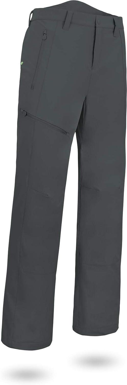 Normani Winterhose warme Softshellhose mit Fleecefütterung - Winddichte, Wasserdichte und atmunsgaktive Funtkionshose [S-4XL}