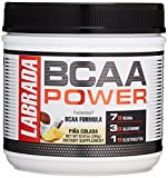 LABRADA NUTRITION – BCAA Power Powder, Fermented Amino Acids with Glutamine & Electrolytes, Muscle Building Post Workout Supplement, Pina Colada 30sv