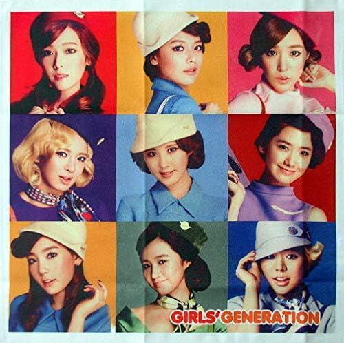 少女時代 韓国製 ハンカチ タオル A