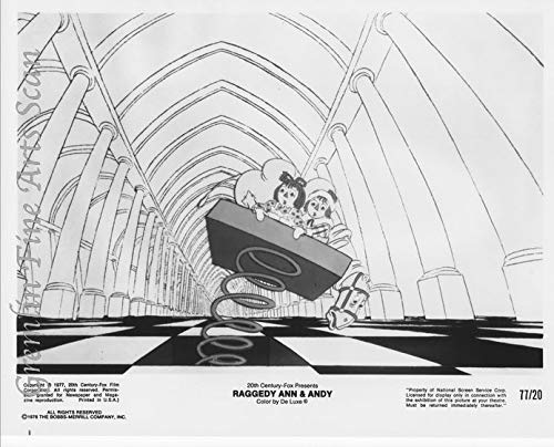 Raggedy Ann and Andy 1977 Original Studio Publicity Still, Lobby Card - Directed by Richard Williams ()