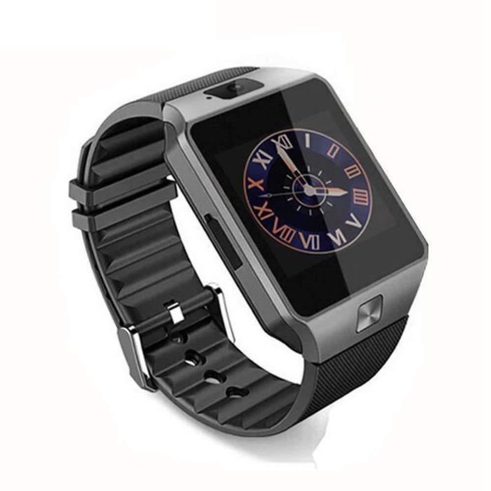 CEKA TECH BQ Aquaris U Lite Compatible, Relojes Inteligentes con Bluetooth, Reloj Inteligente, Cámara, Pantalla táctil Curva, Portatarjetas SIM/TF, ...