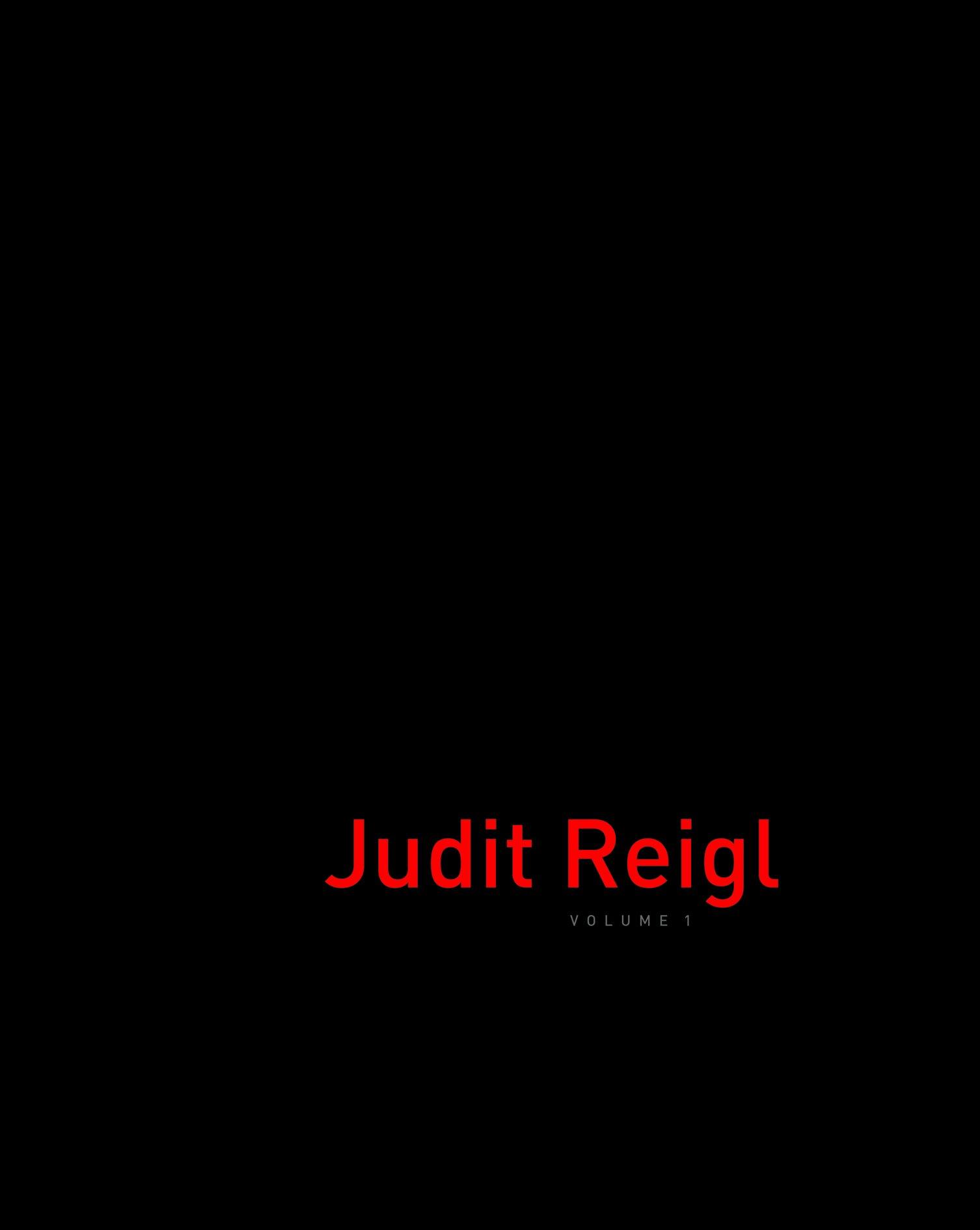 Judit Reigl Volume 1. Agnes Berecz