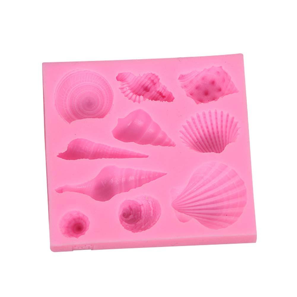 Da.Wa Backform 1 St/ück Pralinenformen Silikon Formen f/ür Eisw/ürfel S/ü/ßigkeiten Schokolade Kinderparty Dekoration Zubeh/ör Shell Serie