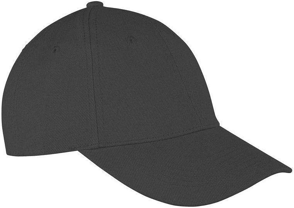 Baseball Cap Polo Style Classic Sports Casual Plain Sun Hat Unisex 100/% Cotton