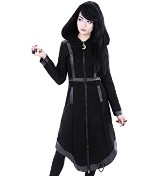 Re Style Moon Witch Coat Gothic Occult Symbols Winter Coat Small