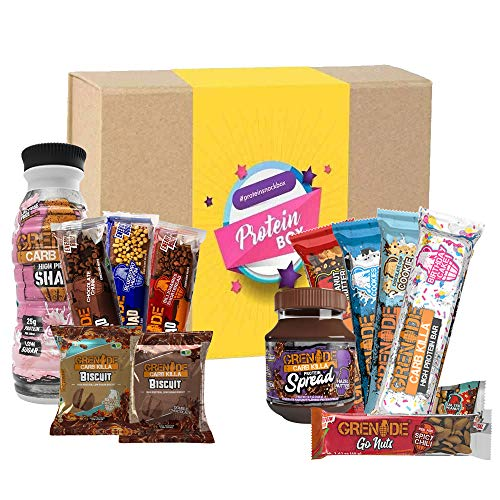 Grenade Carb Killa Bars RTD Bar Spread Gift Box for Him / Her, Birthday, Special Occasion, Mother's Day, Father's Day Christmas, Easter, Holiday, New Year