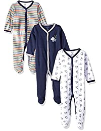 Luvable Friends Baby Snap Sleep and Play, 3 Pack