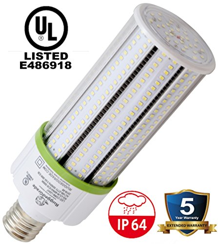 60 Watt LED Bulb - Standard E26 base - 6,900 Lumens- 4000K Corn Bulb -Replacement for Fixtures HID/HPS/Metal Halide or CFL - High Efficiency 115 Lumen/ watt - 360 Degree Lighting - LED Corn Light Bulb