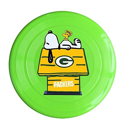 SYYFB Unisex Green Bay Sport Logo Sleep Outdoor Game Frisbee Sport Disc KellyGreen (Crock Pot With Clock)