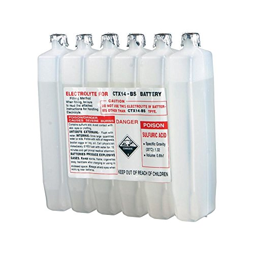 Price comparison product image WPS SEALED BATTERY ELECTROLYTE PACK 380CC 49-3023