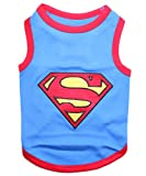 Pet Clothes SUPERMAN Dog T-Shirt - Small, My Pet Supplies