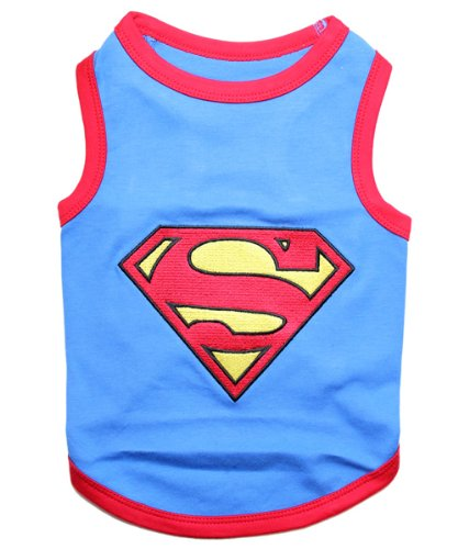 Parisian Pet Superman Dog T-Shirt, X-Large