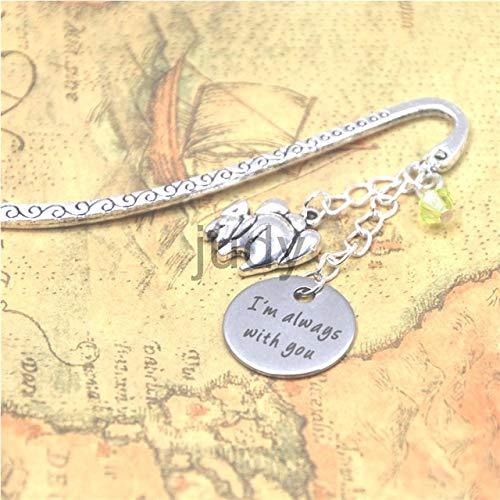Necklace | Elephant Charm Pendant Necklace for Mom | Bangle 12Pcs/Lot (Bookmark)