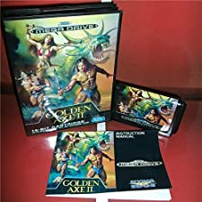 16 Bit Sega MD Game - Golden Axe 2 EU Cover with Box and Manual For Sega Megadrive Genesis Video Game Console 16 bit MD card - Sega Genniess , Sega Ninento , Sega Mega Drive
