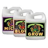 Advanced Nutrients pH perfect Grow, Micro, Bloom 10L, 3-Part Base Nutrient, 10 Liters Each