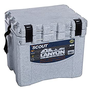 Canyon Coolers Scout 22 Quart Cooler-White Marble