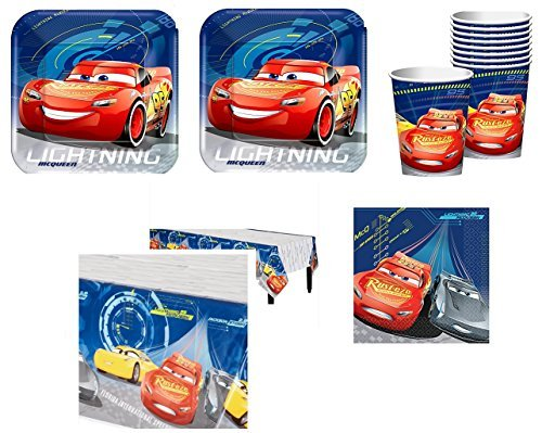 Cars 3 Party Pack for 16 Guests -