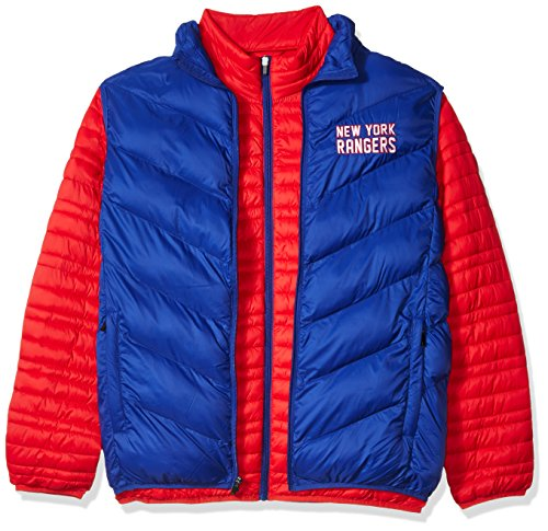 (G-III Sports NHL New York Rangers Men's Three & Out 3-in-1 Systems Jacket, X-Large, Red/Royal)