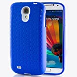 Hyperion Samsung Galaxy Note 3 HoneyComb Matte TPU Case / Cover for the Extended BatteryHyperion Retail Packaging [2 Year NO HASSLE Warranty] (BLUE)