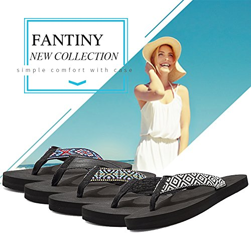 Casual Insole Slipper Mat Indoor Outdoor Yago Flops Shoes Fantiny and Arch with Flip Thong Women's Sandal Moonlight Support xx7PqwFfv