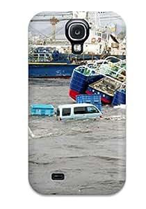 Case Cover Japan Tsunami Earthquake March 2011/ Fashionable Case For Galaxy S4 3852124K79175168