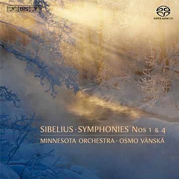 シベリウス : 交響曲 第1番&第4番 (Sibelius : Symphonies Nos 1 & 4 / Minnesota Orchestra , Osmo Vanska) [SACD Hybrid] [輸入盤]