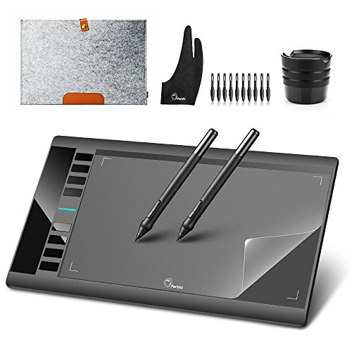Parblo A610 10' x 6' Graphic Drawing Tablet with 8 Express Keys and 2...