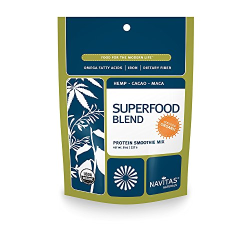 Navitas Naturals Organic Protein Superfood Blend Smoothie Mix,