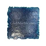 24-Inch by 24-Inch Seamless Concrete Texturing Skin, Slate Pattern GlobMarble Skin Mat SKM 3200