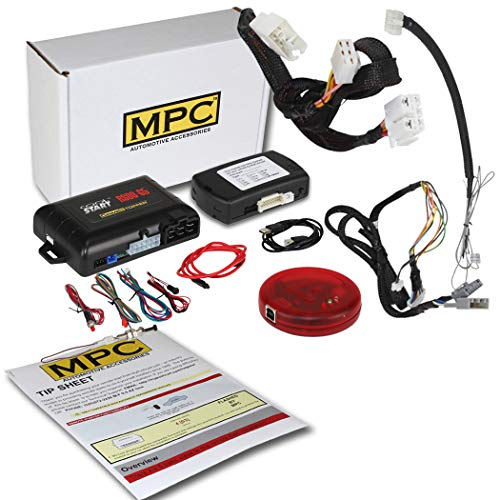 MPC Factory Remote Activated Remote Start Kit for 2013-2017 Honda Accord - T-Harness - FlashLink Updater -Firmware Preloaded