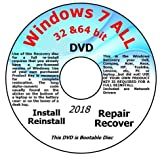 Software : Recovery disc compatible w/ All Versions of Windows 7 Recovery Disc for 32 & 64 Bit Systems. Factory Fresh Re-install