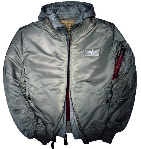 Alpha nbsp;d 1 De Jacket Ma Industries 183110 Plata Tec rRqfSr