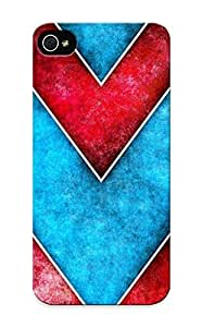 Fireingrass Perfect Tpu Case For Iphone 4s Anti-scratch Protector Case (Abstract Artistic)