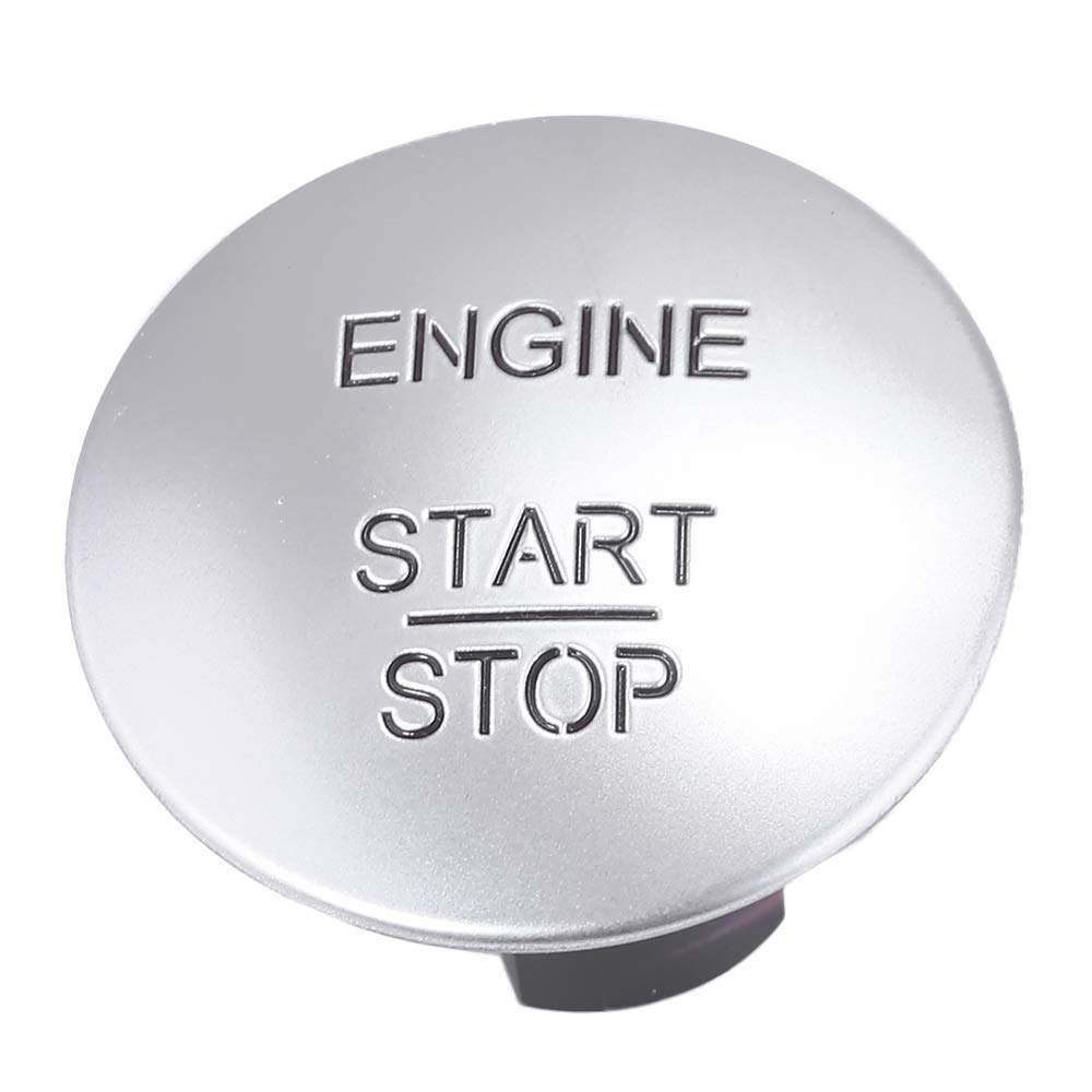 Keyless Go Ignition Button Push To Start Stop for Mercedes-Benz C250 C300 E350 GL350 GL450 ML350 S550 SL500 Year 2010 and Up