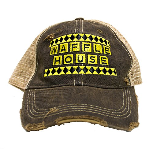 (Original Retro Brand The Men's Waffle House Hat, Black, One Size)