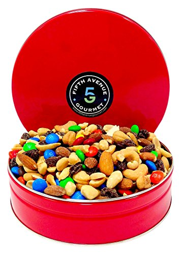 5th Avenue Gourmet Trail Mix 1lb in a Tin